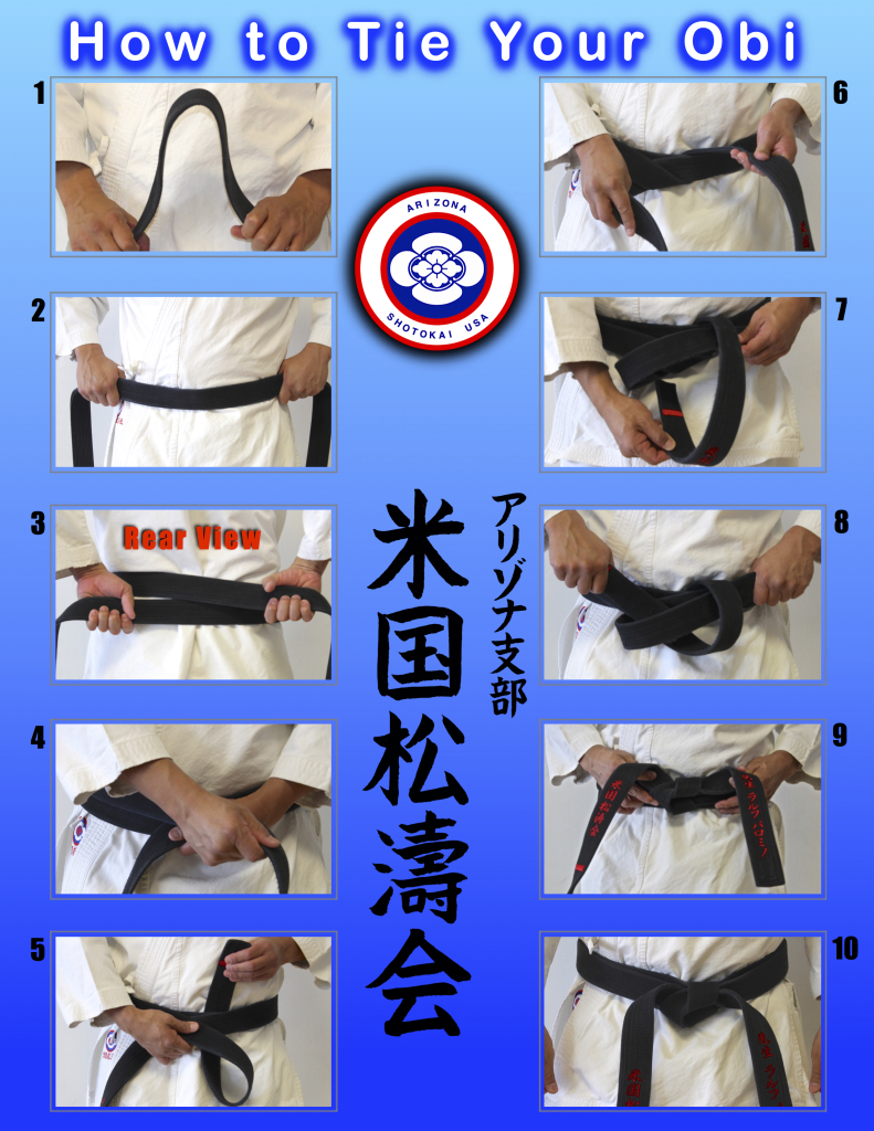 HOW TO TIE YOUR BELT