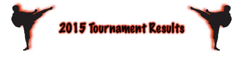 Tournament Result Bar 2015
