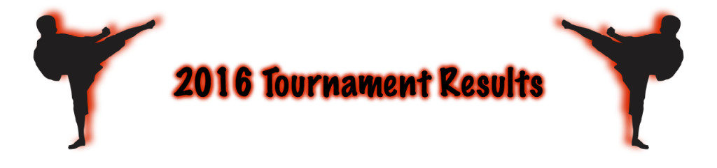 Tournament Result Bar 2016