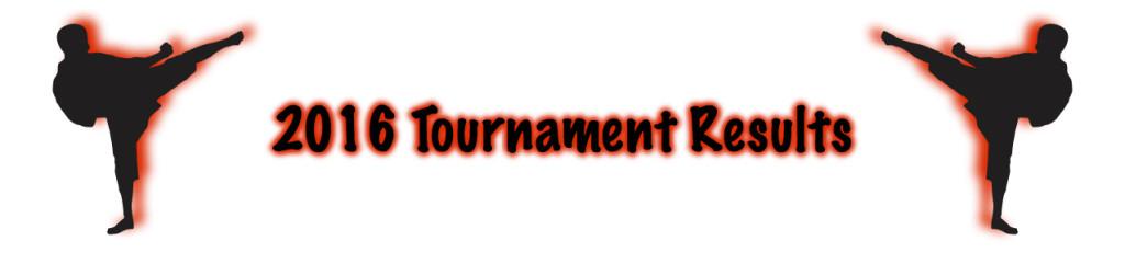 Tournament Result Bar 2016